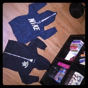 Nike & Carter Hoodie Bundle, size 4t